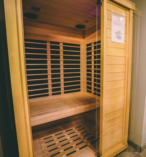 Locker Room Sauna